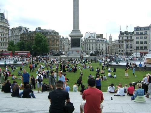 experiencias-de-viagens-london-trafalgar-square