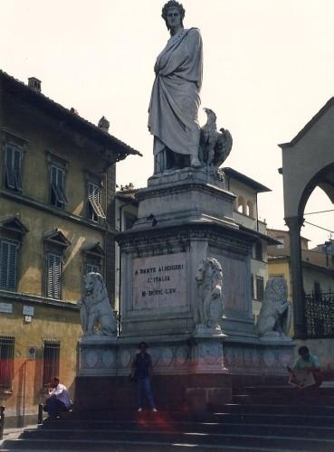 experiencias-de-viagens-florenca-Monumento-a-Danti-Alighieri