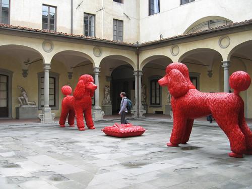 experiencias-de-viagens-florenca-firenza-accademia-Patio-da-Accademia-Di-Bella-Arti