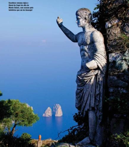 experiencias-de-viagens-capri-escultura-romana-anacapri-italy