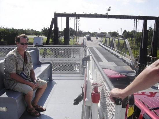 experiencias-de-viagens-north-carolina-ferry-kure-beach