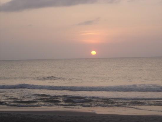 experiencias-de-viagens-north-carolina-fort-fisher-sunset