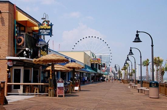 experiencias-de-viagens-south-carolina-myrtle-beach-boardwalking