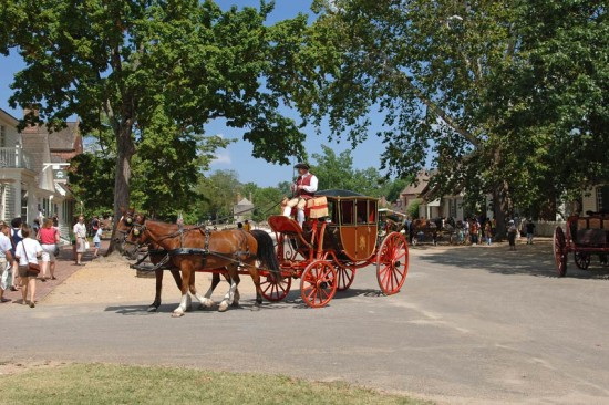 experiencias-de-viagens-williamsburg-horse-carriage