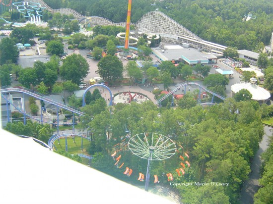 experiencias-de-viagens-kings-dominion-vista-aerea