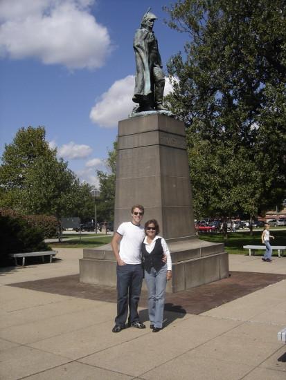 experiencias-de-viagens-annapolis-estátua