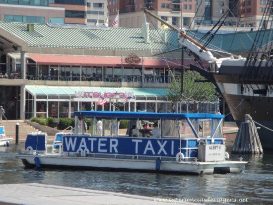 experiencias-de-viagens-baltimore-water-taxi