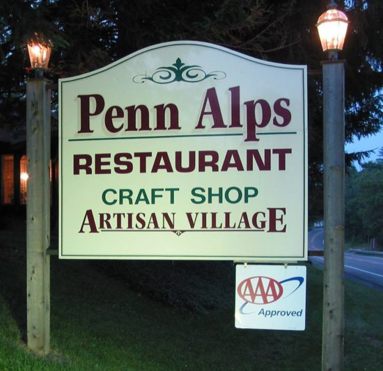 experiencias-de-viagens-grantsville-penn-alps-placa