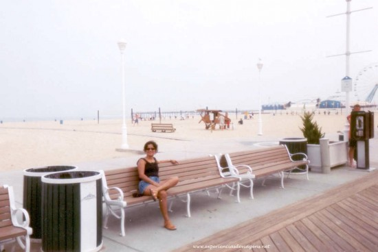experiencias-de-viagens-ocean-city-boardwalk-maria