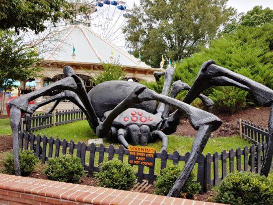 experiencias-de-viagens-kings-dominion-halloween-spider