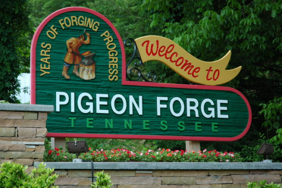 Pigeon-Forge-welcome-sign