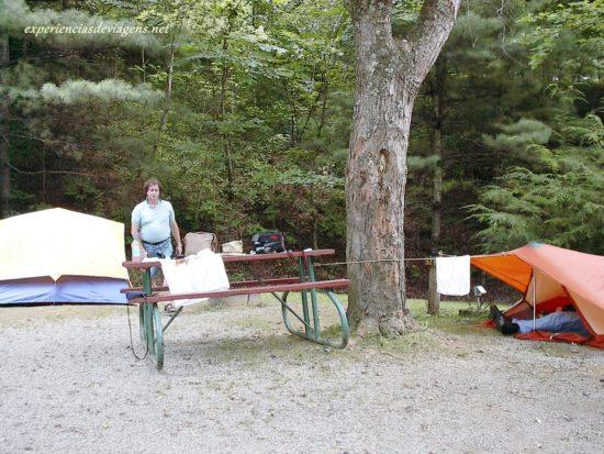 experiencias-de-viagens-gatlinburg-acampamento
