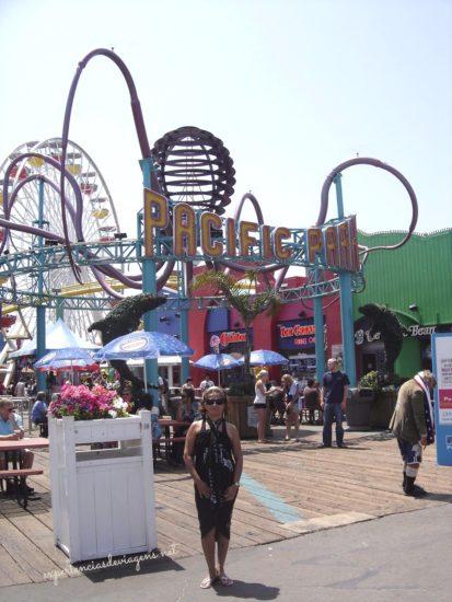 Em Santa Mônica Pier