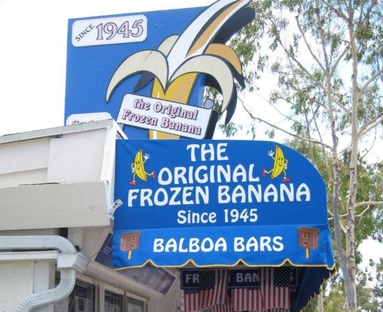 balboa frozen banana
